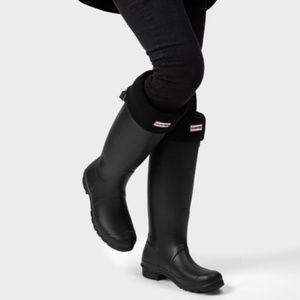 NWT Black Hunter Original Tall Rain Boots